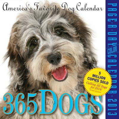 365 Dogs 2013 Page-A-Day Calendar Cover Image