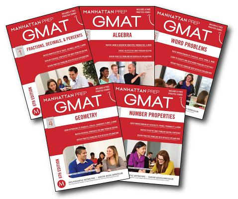 GMAT Quantitative Strategy Guide Set (Manhattan Prep GMAT Strategy Guides) Cover Image