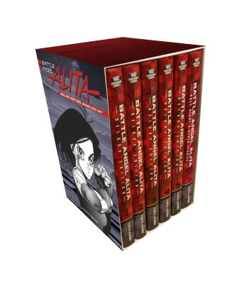 Battle Angel Alita Deluxe Complete Series Box Set Cover Image