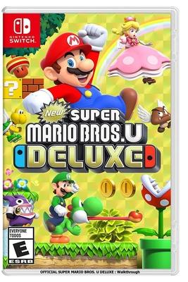 Official Super Mario Bros. U Deluxe: Walkthrough Cover Image