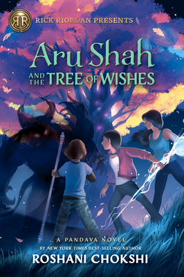 Aru Shah and the Tree of Wishes Cover Image