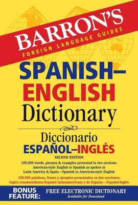 Barron's Spanish-English Dictionary (Barron's Bilingual Dictionaries) Cover Image