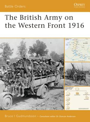 The British Army on the Western Front 1916 Cover