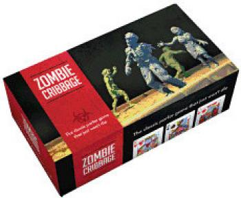 Zombie Cribbage: The Classic Parlor Game that Just Won't Die Cover Image