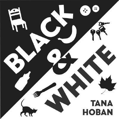 Black & White Board Book Cover Image