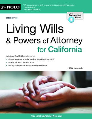 Living Wills and Powers of Attorney for California Cover Image