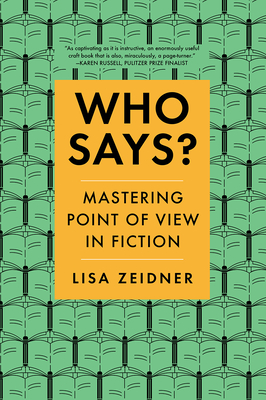 Who Says?: Mastering Point of View in Fiction Cover Image