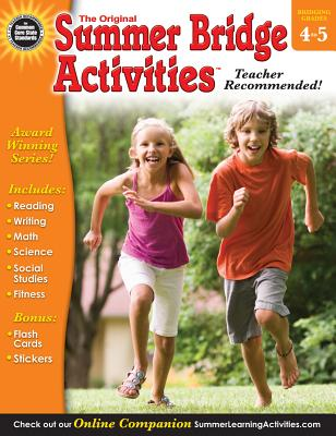 Summer Bridge Activities(r), Grades 4 - 5 Cover Image