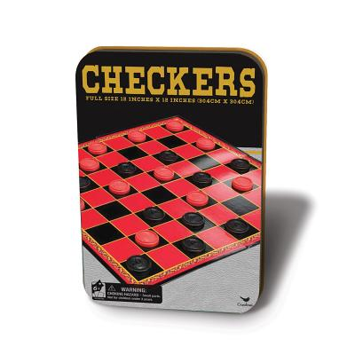 Checkers in Adurable Storage Tin Cover Image