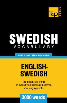 Swedish vocabulary for English speakers - 3000 words Cover Image