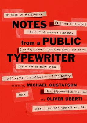 Notes from a Public Typewriter Cover Image