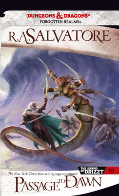 Passage to Dawn (The Legend of Drizzt #10) Cover Image