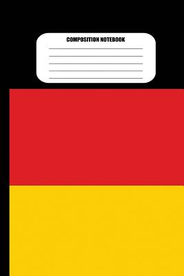 Composition Notebook: German Flag (100 Pages, College Ruled) Cover Image