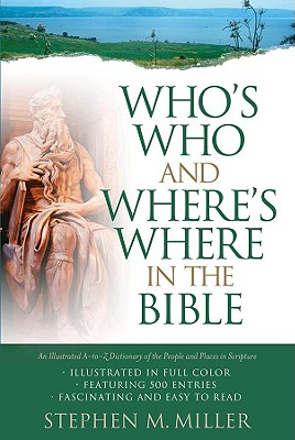 Who's Who And Where's Where in The Bible Cover