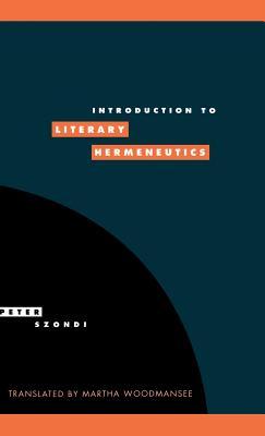 Introduction to Literary Hermeneutics (Literature #9) Cover Image