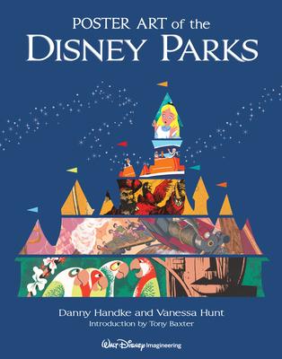 Poster Art of the Disney Parks (A Disney Parks Souvenir Book) Cover Image