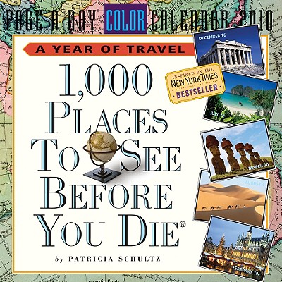 1,000 Places to See Before You Die Page-A-Day Calendar 2010 Cover Image