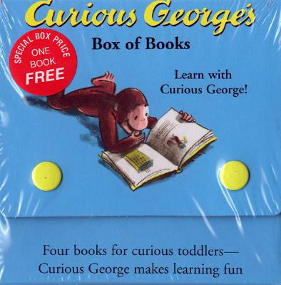 Curious George's Box of Books Cover Image