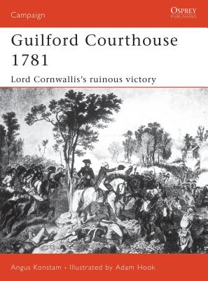 Guilford Courthouse 1781 Cover
