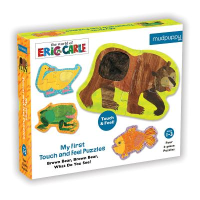 My First Touch & Feel World of Eric Carle(TM) Brown Bear, Brown Bear What do you See? Puzzles Cover Image