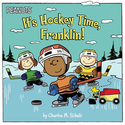 It's Hockey Time, Franklin! (Peanuts) Cover Image