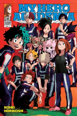 My Hero Academia, Vol. 4 (My Hero Academia  #4) Cover Image