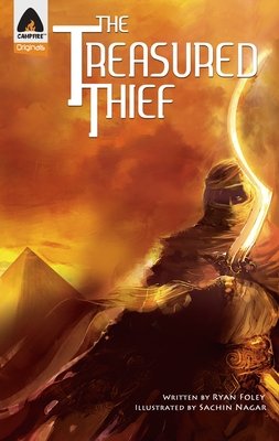 The Treasured Thief: A Graphic Novel (Campfire Graphic Novels #7) Cover Image