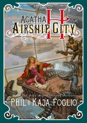 Agatha H. and the Airship City Cover