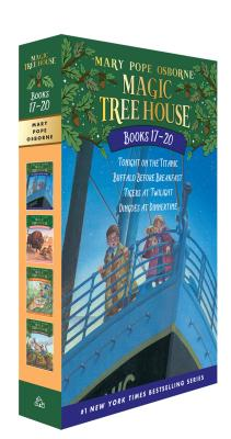 Cover for Magic Tree House Books 17-20 Boxed Set