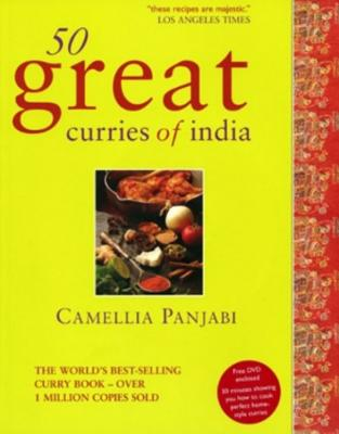 50 Great Curries of India [With CDROM] Cover