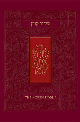Koren Sacks Siddur, Sepharad: Hebrew/English Prayerbook Cover Image