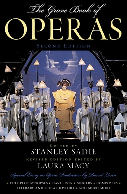 The Grove Book of Operas Cover Image