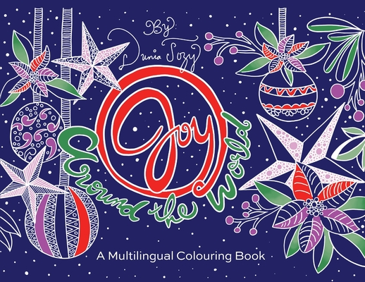 Joy Around the World: A Multilingual Colouring Book Cover Image