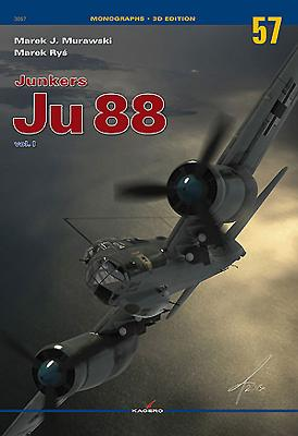 Junkers Ju 88: Volume 1 (Monographs 3D Edition #57) Cover Image