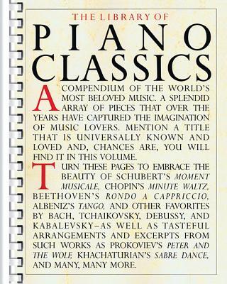Library of Piano Classics: Piano Solo Cover Image