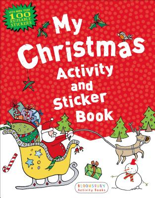 My Christmas Activity and Sticker Book Cover Image