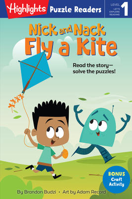 Nick and Nack Fly a Kite (Highlights Puzzle Readers) Cover Image