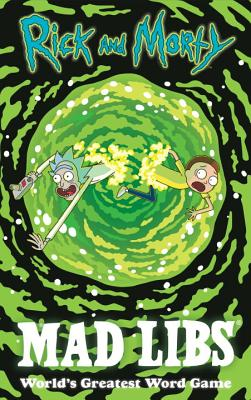 Rick and Morty Mad Libs Cover Image
