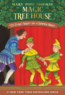Stage Fright on a Summer Night (Magic Tree House (R) #25) Cover Image