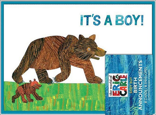 The World of Eric Carle(TM) It's a Boy! Birth Announcements Cover Image