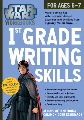 Star Wars Workbook: 1st Grade Writing Skills (Star Wars Workbooks) Cover Image