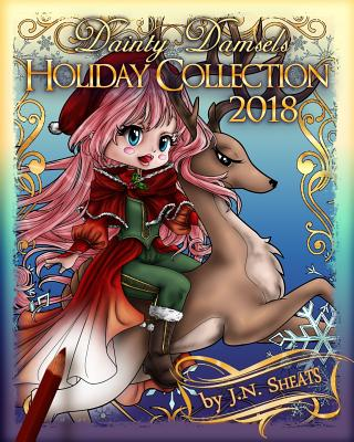 Dainty Damsels: Holiday Collection 2018 Cover Image