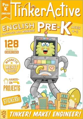 TinkerActive Workbooks: Pre-K English Language Arts Cover Image
