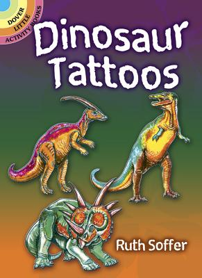 Dinosaur Tattoos (Dover Tattoos) Cover Image