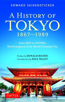 Cover for A History of Tokyo 1867-1989