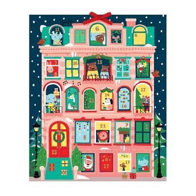 Santa, Stop Here! Advent Calendar Cover Image