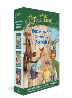 Magic Tree House Box of Puzzles, Games, and Activities (3 Book Set) (Magic Tree House (R)) Cover Image