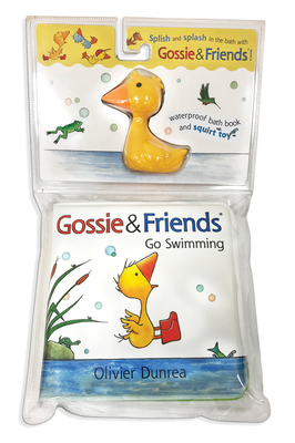 Gossie & Friends Go Swimming Bath Book with Toy Cover Image