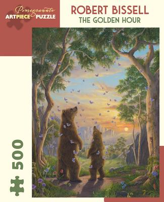 Robert Bissell the Golden Hour 500 Piece Jigsaw Puzzle Cover Image