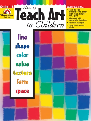 How to Teach Art to Children Cover Image